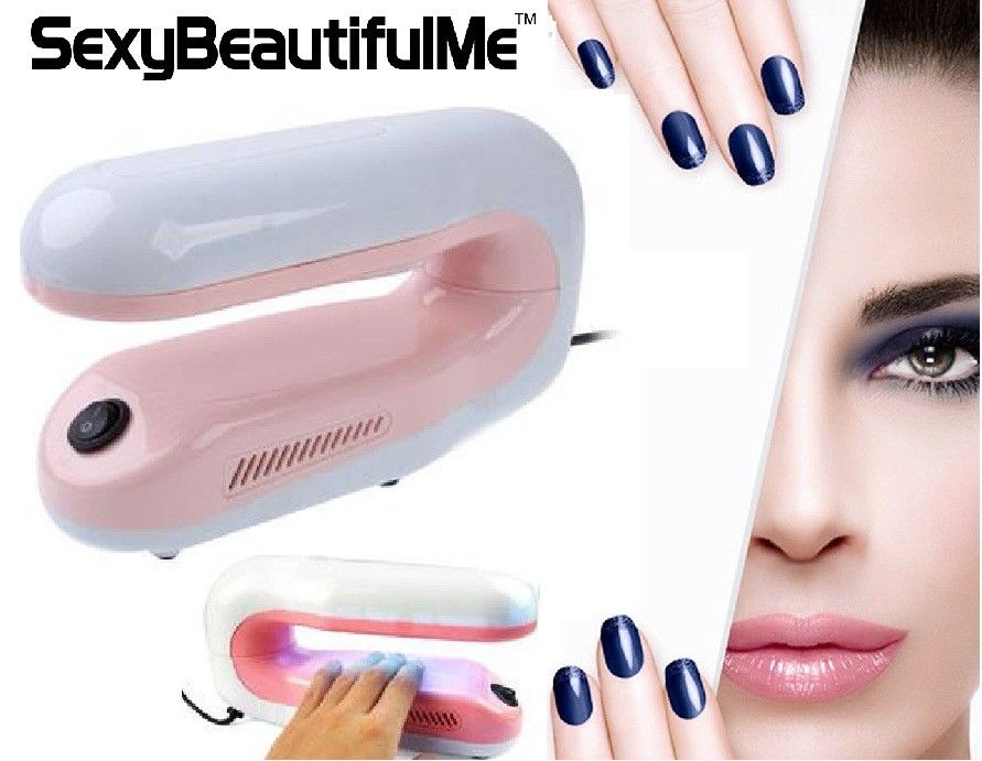 SBM®9W Professional UV Gel Nail Curing Dryer Light For Hand&Foot Gel Nail Curing