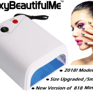 SBM® 36W Professional Salon UV Gel Nail Curing Lamp Light Dryer W/ Timer 4Bulbs