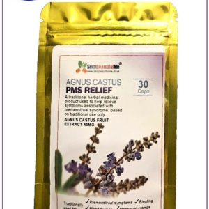 Agnus Castus-Relief OF Premenstrual,Mood Swings,Irritability,Breast Tender-30Cap