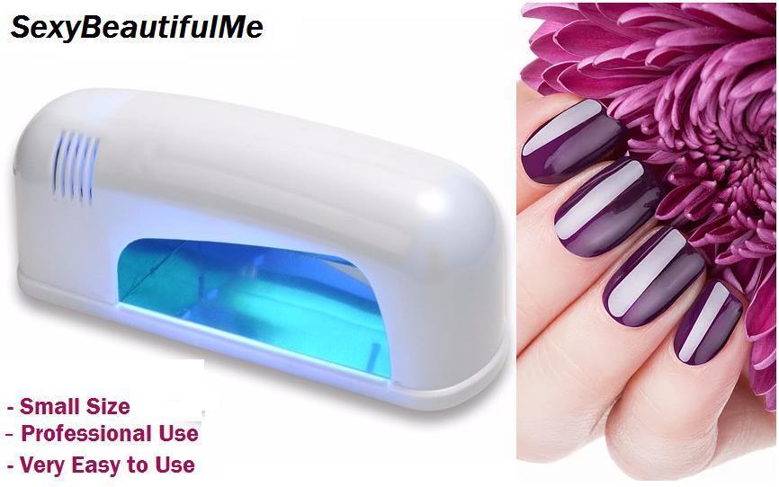 SBM® Professional Nail UV GEL LAMP 9W White Nail Dryer UV Lamp Nail UV Lamp