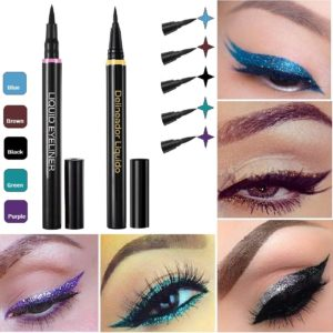 SBM®NEW!☆GENUINE☆ Eyeliner Liquid Waterproof Pen Smooth Cosmetics Make Up