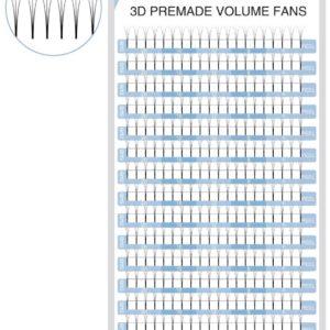 SexyBeautifulMe®3D Premade Volume Fan Volume Lashe Individual Eyelash Extension
