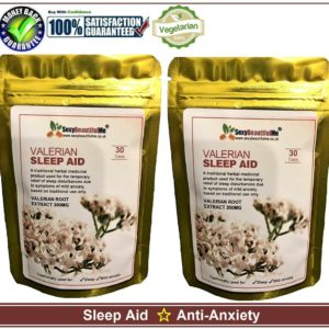 Valeria Root-Sleep Aid, Anti-Anxiety, Best Quality Product- 60 x 300mg Capsules