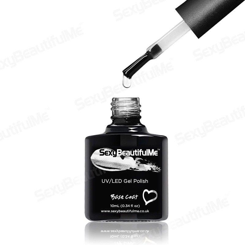 BASE COAT GENUINE NAIL GEL POLISH UV LED SOAK OFF 10ml-SexyBeautifulMe®