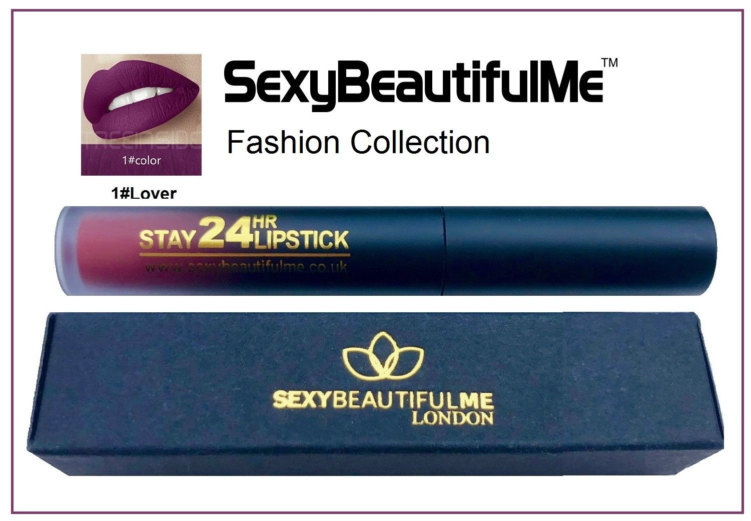 SexyBeautifulMe®Matte Lipstick Liquid-Stay 24HR Lipstick-Long Lasting Waterproof