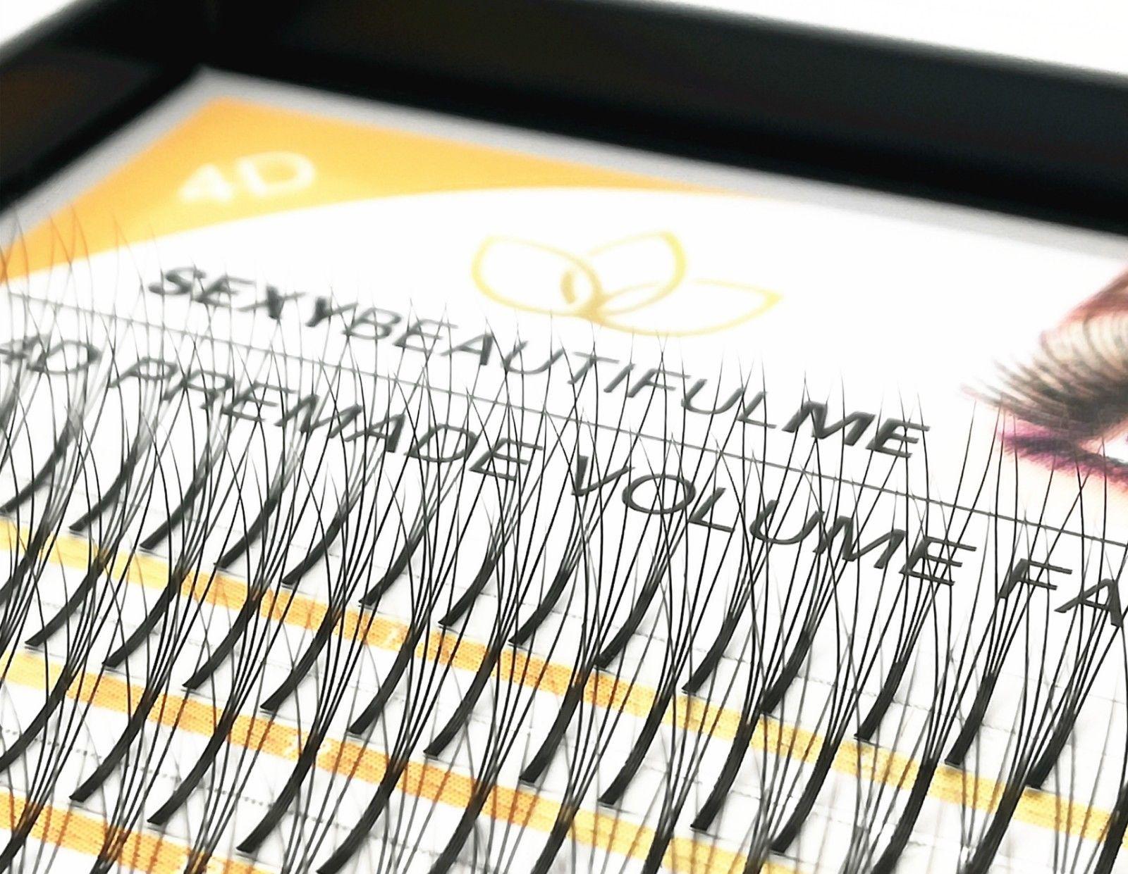 SBM®4D Lashes Premade Russia Volume Semi Permanent Individual Eyelash Extensions