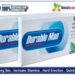 2Boxs Of DurableMan Sex CAP/PILLS/TAB For Men-Harder,Bigger & Very Long lasting